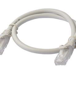 PL6A-0.5GRY-8Ware Cat6a UTP Ethernet Cable 0.5m (50cm) Snagless Grey