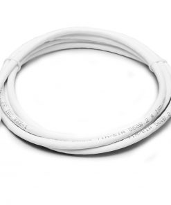 PL6A-0.5WH-8Ware Cat6a UTP Ethernet Cable 0.5m (50cm) SnaglessWhite