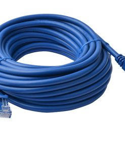 PL6A-10BLU-8Ware Cat6a UTP Ethernet Cable 10m Snagless Blue