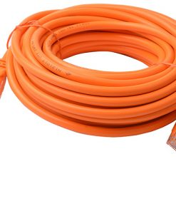 PL6A-10ORG-8Ware Cat6a UTP Ethernet Cable 10m Snagless Orange