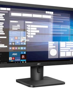 "20E1H/75-AOC 19.5"" 5ms 1600x900 Business Monitor - HDM1.4/VGA Tilt VESA100mm Low Blue Mode Flicker Free"