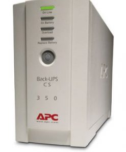 BK350EI-APC Back-UPS BK350EI CS 350VA Tower 210W