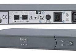 SC450RMI1U-APC Smart-UPS SC 450VA 1U RM 280W/DB9/RS232/2Yr Wty