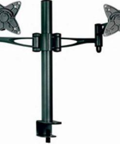 "AT-LCDMOUNT-2H-Astrotek Monitor Stand Desk Mount 36cm Arm for Dual Screens 13""-27"" 15kg 30° tilt 180° swivel 360° rotate VESA 75x75 100x100 ~MAAT-LCDMOUNT-2S"