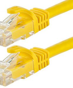 AT-RJ45YELU6-05M-Astrotek CAT6 Cable 0.5m/50cm - Yellow Color Premium RJ45 Ethernet Network LAN UTP Patch Cord 26AWG