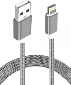AT-USBLIGHTNINGW-5M-Astrotek 5m USB Lightning Data Sync Charger Grey White Color Cable for iPhone 7S 7 Plus 6S 6 Plus 5 5S iPad Air Mini iPod