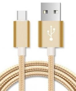 AT-USBMICROBG-1M-Astrotek 1m Micro USB Data Sync Charger Cable Cord Gold Color for Samsung HTC Motorola Nokia Kndle Android Phone Tablet & Devices