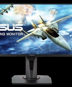 "VG258Q-ASUS VG258Q 24.5"" Gaming 1ms 144Hz Eyecare Free-Sync HAS SPK GamePlus DP HDMI GameVisual TUV Certified Monitor"