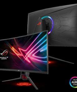 "XG32VQ-ASUS ROG STRIX XG32VQ 32"" Curved 2K (2560x1440) Gaming VA Curved 144Hz Eyecare Free-Sync DP HDMI USB3.0 Game Visual TUV Certified AURA SYNC Monitor"