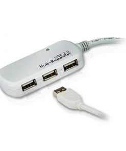 UE2120H-Aten 4 port USB 2.0 12m Active Extension Hub