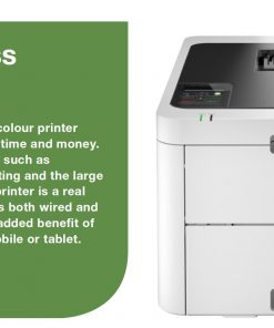 HL-L3230CDW-Brother HL-L3230CDW Colour LED Laser Printer with automatic 2-sided printing and wireless connectivity. 24ppm Mono and Colour