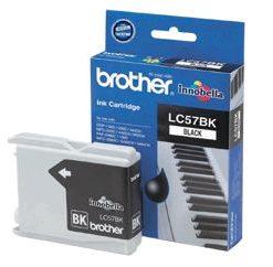 LC-57BK-Brother LC-57BK Black Ink Cartridge- FAX-1360/2480C