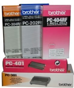 PC402RF-Brother PC402RF Refill Rolls 2 x Thermal Refill Rolls