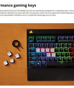 CH-9000233-NA-Corsair Gaming Performance FPS/MOBA Key Kit- White