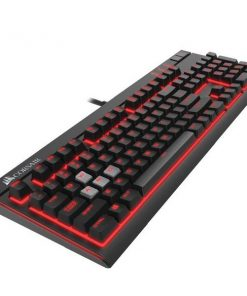 CH-9101022-NA-Corsair K70 LUX Red LED Cherry MX BROWN Mechanical Switch Keyboard