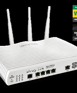 DV2862VAC-Draytek Vigor2862VAC Multi WAN VDSL2/ADSL2+ Gigabit Firewall Router VoIP Wireless AC2000 3G/4G LTE USB 4xGigabit LAN 32xVPN 16xVLAN 2yr~MOD-DV2860VAC