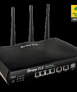 DV2926AC-Draytek Vigor2926AC Dual WAN Gigabit Broadband Router Wireless AC2000 Firewall 50VPNs 2Gigabit WAN 4xGigab LAN 3G/4G USB 16xVLAN ~MOD-DV2925AC 2yr wty