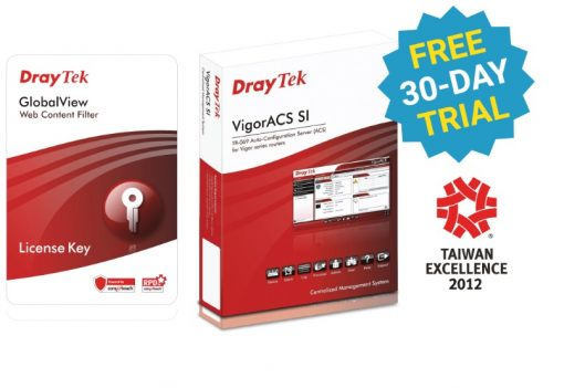 DVWCFS-Draytek Web Content Filtering - 1 Year for Vigor2930 / 2950 / 2955 /  2960 / 300B / 3300 / IPPBX3510 / 3900 / 5300 / 5510 series 1 yr