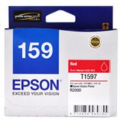 C13T159790-Epson 159 Red Ink Cartridge Suits R2000 Printer