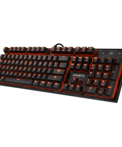 FORCE-K85-RED-Gigabyte FORCE K85 RGB Mechanical Gaming Keyboard Cherry MX Red Switch Anti-ghosting Function 16.7M customizable color lighting Windows-lock hotkey LS