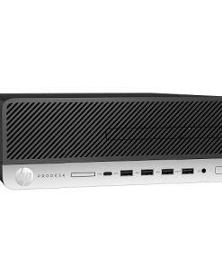 1MF40PA-HP ProDesk 600 G3 Small Form Factor Intel i5-7500 8GB DDR4 256GB SSD Windows 10 Pro 3xDP USB3.1 USB-C USB2.0 RJ45 3yr wty