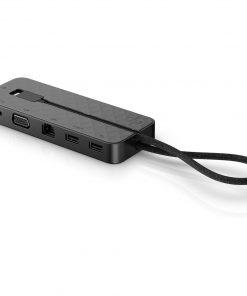 1PM64AA-HP USB Type-C Mini Dock Replicator - 1xUSB3.0 Charging 1xUSB 2.0 1xVGA 1xHDMI LAN for HP Business Laptop PCs HP Thin Clients HP Care Pack Services HP