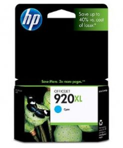 CD972AA-HP 920XL Cyan Ink Cartridge Suits OfficeJet 6500