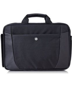 "H2W17AA-HP 15.6"" Essential Topload Notebook Laptop Bag Carry Case Black Colour Smooth Carry Handles Shoulder Strap Light Weight Durable fit 16"" 15"" 14"" 13"" 12"