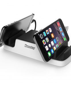 SCA607-Huntkey SmartU USB Charging Dock with 4 USB 2.4A ports and 2 Micro USB Connectors