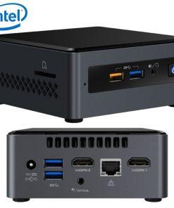 "BOXNUC7CJYH4-Intel NUC BOXNUC7CJYH4 mini PC J4005 2.7GHz 2xDDR4 SODIMM 2.5"" HDD 2xHDMI 2xDisplays GbE LAN WiFi BT 4xUSB3.0 2xUSB2.0 for Digital Signage POS"
