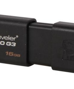 DT100G3/16GB-Kingston 16GB USB3.0 Flash Drive Memory Stick Thumb Key DataTraveler DT100G3 Retail Pack 5yrs warranty ~USK-DT100G3-16F DT100G3/16GBFR