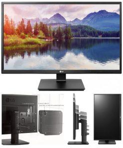 """27BK550Y-B-LG 27"""" IPS 5ms Full HD Business Monitor w/HAS - VGA DVI HDMI DP USB Speakers VESA Height Adjust Stand (LS)"""