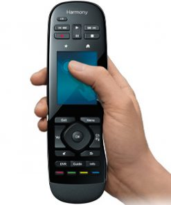 915-000249-Logitech Harmony Ultimate One Touch Screen IR Remote Gesture control Harmony compatibility Easy online setup Power at the ready One-touch activities