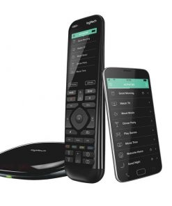 915-000258-Logitech Harmony Elite Advanced Universal Remote Control  with Hub One-touch actions Universal control Easy set-up Custom activities