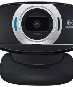 960-000738-Logitech C615 8MP Webcam Autofocus/1080p/Pan/Tilt/Zoom Fold-and-Go Design
