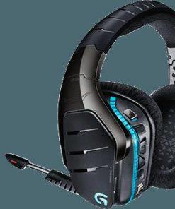 981-000600-Logitech G933 Artemis Spectrum 7.1 Wireless Surround Gaming Headset Pro-Gtm Audio driver RGB lighting Programmable G-keys Noise cancelling mic LS