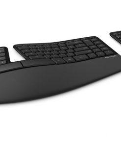 L5V-00027-Microsoft Wireless SCULPT ERGONOMIC desktop USB Mouse & Keyboard - RETAIL BOX (BLACK)
