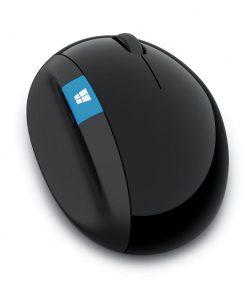 L6V-00006-Microsoft Sculpt Ergonomic Mouse - Black