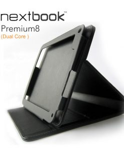 "M805-Nextbook 8"" Tablet Stand Folio Stylish/Durable/Soft Interior"
