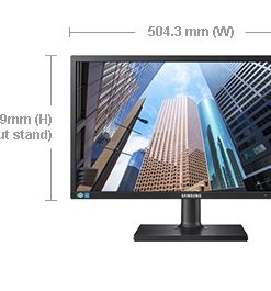 "LS22E45KBSV/XY-Samsung 21.5"" Business Monitor FHD Height Adjust D-Sub"