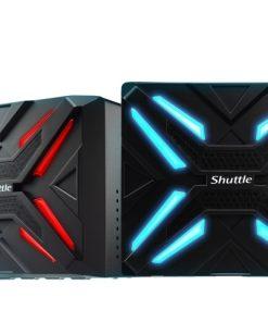 "SZ270R9-Shuttle SZ270R9 XPC Cube - 4K UHD 3xDisplays Z270 LGA1151 4xDDR4 HDM 2xDP 1xPCIex16 2xM.2 4x3.5"" HDD RAID Dual Intel GbE LAN WoL 500W 80+ Silver PSU"