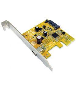 USB2311CC-Sunix USB2311C USB3.1 Enhanced SuperSpeed Single port PCI Express Host Card with USB-C