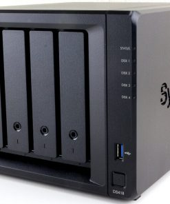 "DS418-Synology DiskStation DS418 4-Bay 3.5"" Diskless 2xGbE NAS (HMB)"