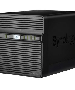 "DS418J-Synology DiskStation DS418j 4-Bay 3.5"" Diskless 1xGbE NAS (HMB)"