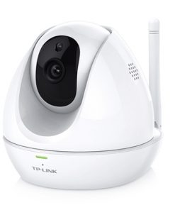 NC450-TP-Link NC450 WiFi Day/Night IP Cloud Camera 300Mbps Wireless 1MP 3.6mmLens75° View 30fps Pan Tilt Built-in Mic&Speaker Motion/Sound Detection iOS(LS)