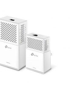 TL-WPA7510KIT-TP-Link TL-WPA7510-KIT AV1000 1000Mbps Gigabit Powerline AC Wi-Fi Kit 2.4GHz@300Mbps 5GHz@433Mbps 1x1Gbps Port HomePlug WPA7510+PA7010 300m Range