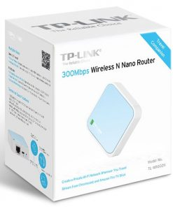 TL-WR802N-TP-Link TL-WR802N N300 Wireless N Nano Router 2.4GHz 300Mbps 1x100Mbps LAN/WAN 1xMicro USB 802.11bgn Built-in antenna Pocket Size (replace TL-WR702N)