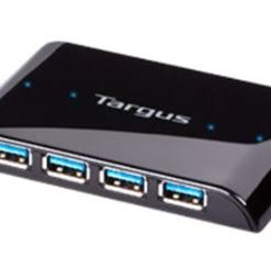 ACH119-Targus SuperSpeed™ 4 Port USB3.0 Hub with Transfer Rate of 615MB/Sec