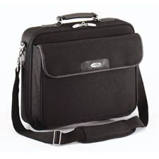 "CN01-Targus 15-16"" Notepac Clamshell Case with Padded Compartment - Black"