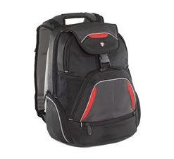 "TSB034AU-Targus 16"" Repel SportBackpack Fits up to 16"" NB Blk/Red/Grey (LS)"